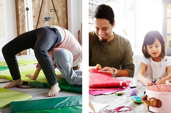 Behöver du inspiration till kul aktiviteter att göra tillsammans med barnen? Var med i vår IKEA kampanj Kom och lek!