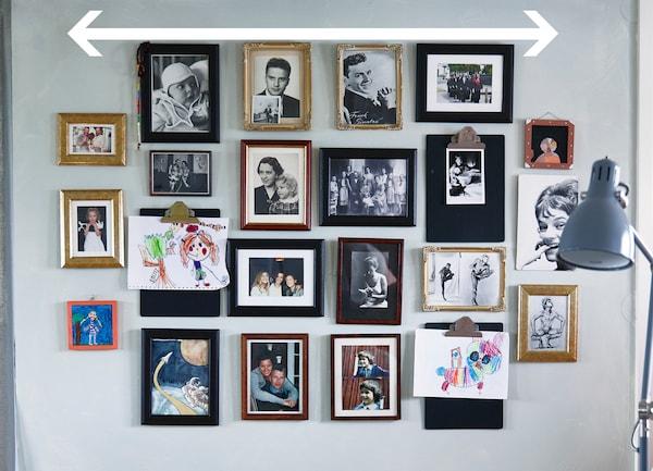 collage bilderrahmen ikea