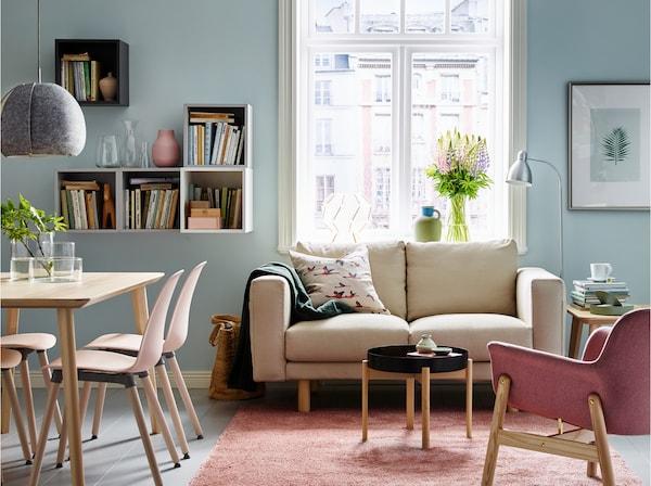 Veel comfort voor de kleine woonkamer - IKEA