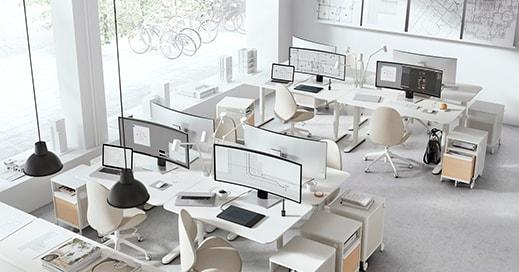 BEKANT desk sit