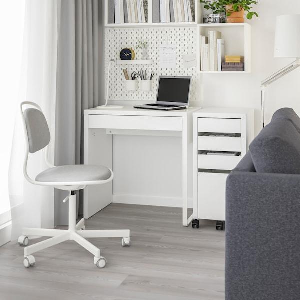 Белый стол МИККЕ