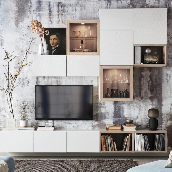 BESTA Aufbewahrungsplanung für dein Wohnzimmer