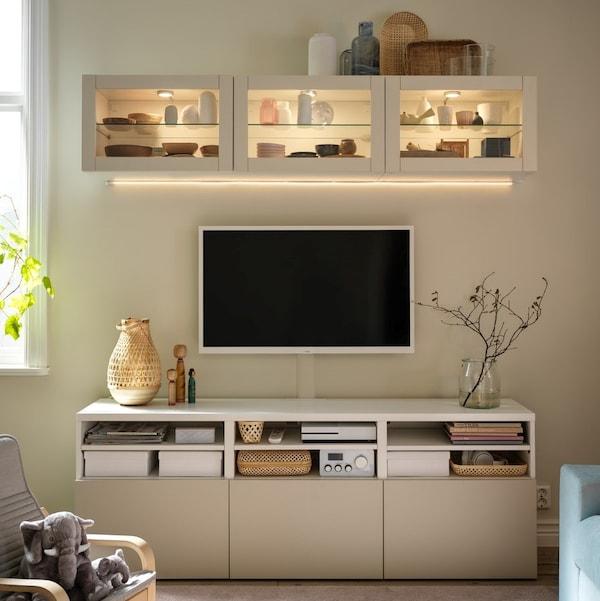 BESTÅ Kombinacja szafki wiszącej