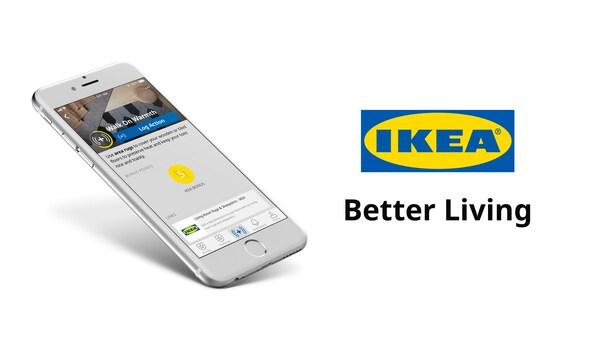 Better Living Alkalmazás egy mobiltelefon képernyőjén.