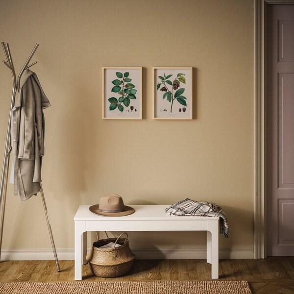 Bild, Herzen und Tiere, 50x50 cm