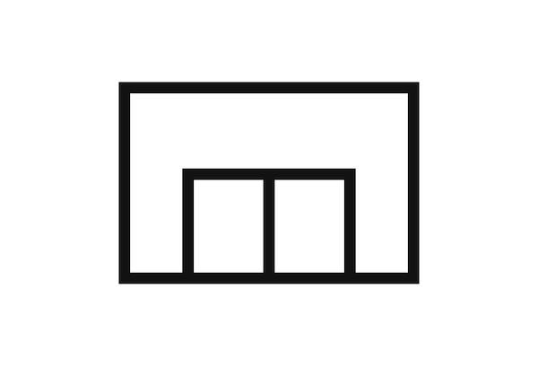 Bilde av et piktogram av et IKEA varehus.