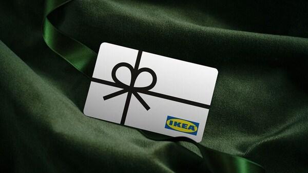 bilde av IKEA gavekort.