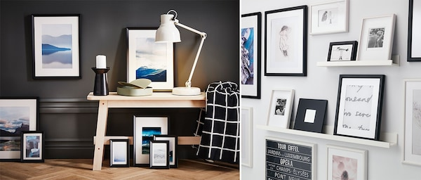 Bilderrahmen und Bilderleisten von IKEA