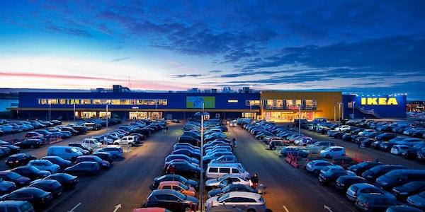 Billede af IKEA Aalborg varehuset