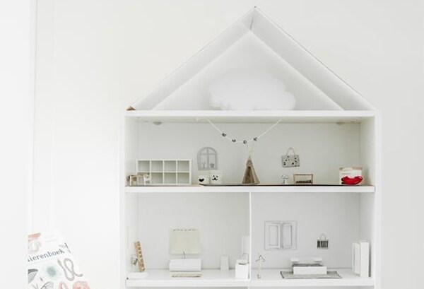 Diy Maak Van Billy Boekenkast Een Poppenhuis Ikea