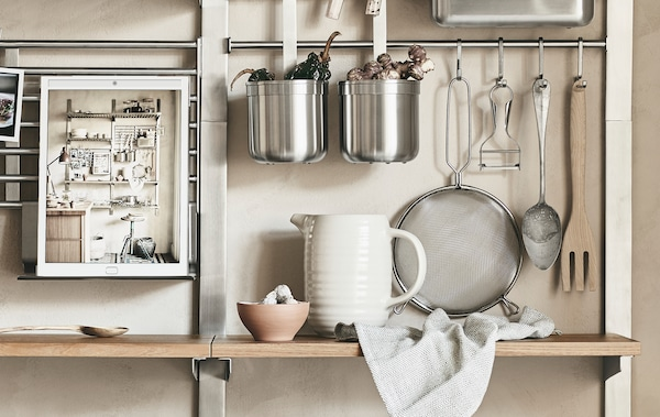 Ikea Mensole Legno.Kungsfors La Cucina A Modo Tuo Ikea