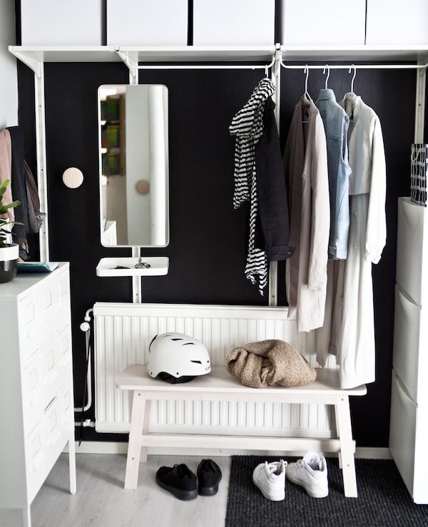 Arredare Cabina Armadio Ikea.Idee Per Una Piccola Cabina Armadio Ikea