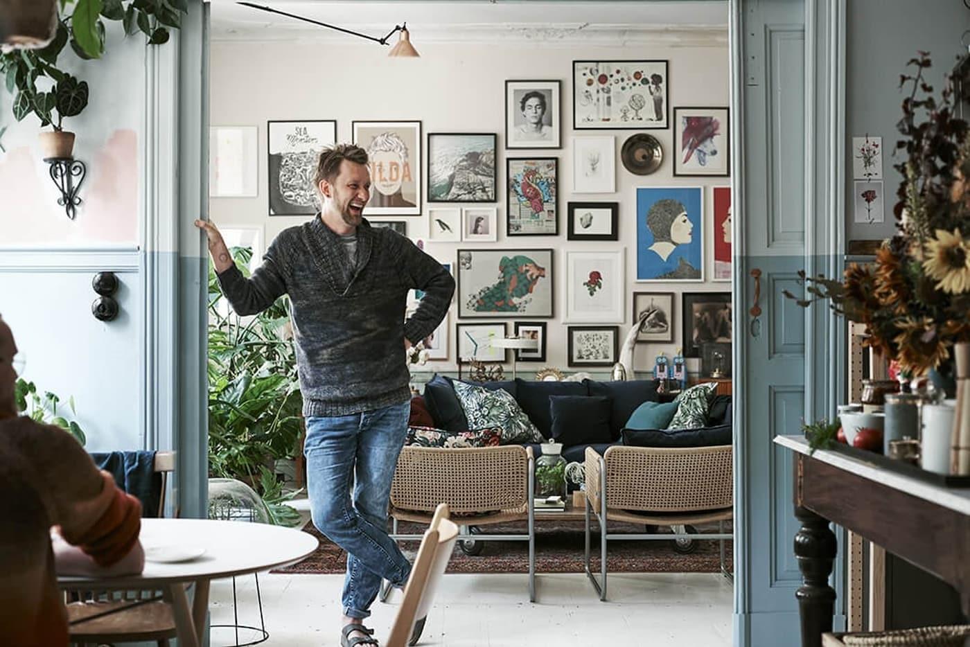 Binnenkijker-woonkamer-werken-IKEA wooninspiratie