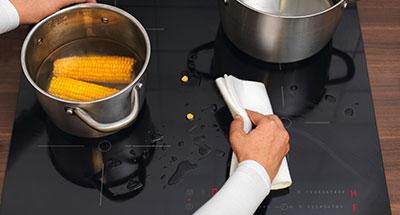 Bloqueo de seguridad de las placas de cocina