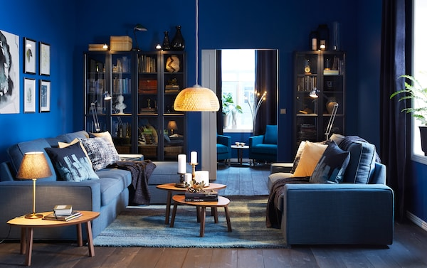 . Darker colours for a cosy cocoon   IKEA