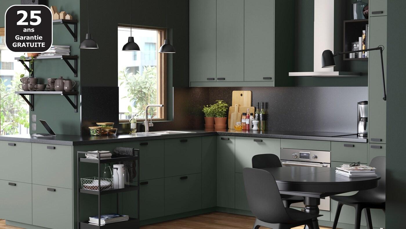 Page Finitions Cuisine Bodarp Vert Ikea