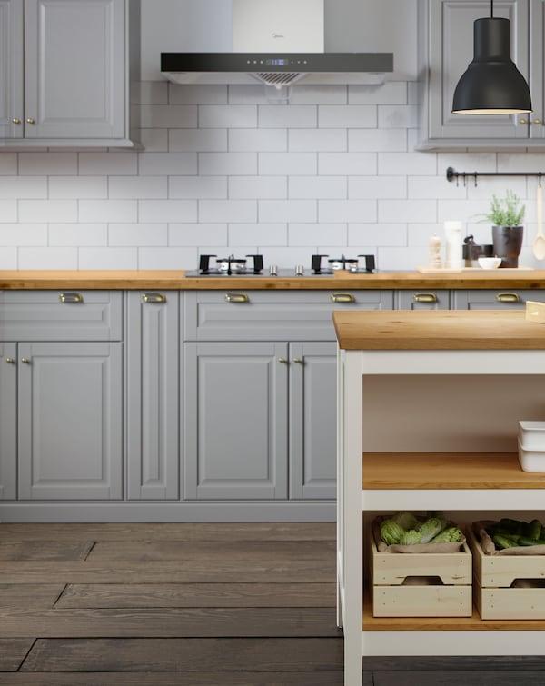 BODBYN drawer and TORNVIKEN kitchen island