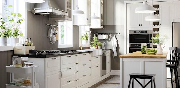 BODBYN white kitchen fronts
