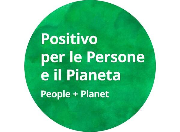 bollo Positivo per le persone e il pianeta