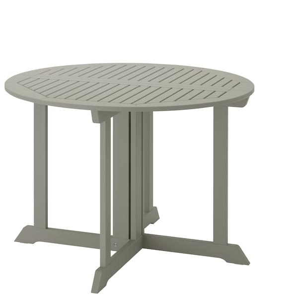 BONDHOLMEN venkovní stůl v šedé barvě.