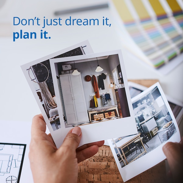 Book an appointment today with IKEA home furnishing experts!