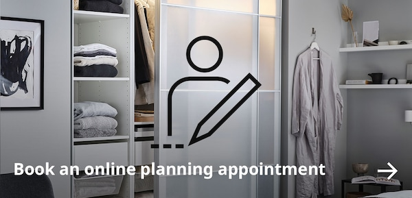 Book an online planning appointment