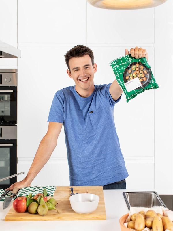 Boules végétales IKEA à la belge par Loïc Van Impe