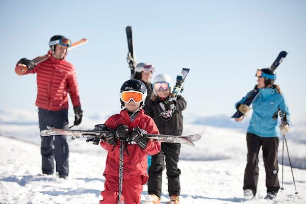 Branäs: Im Winter ein Paradies für die ganze Familie