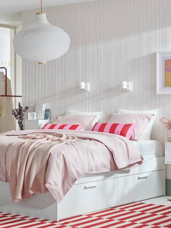 BRIMNES bed