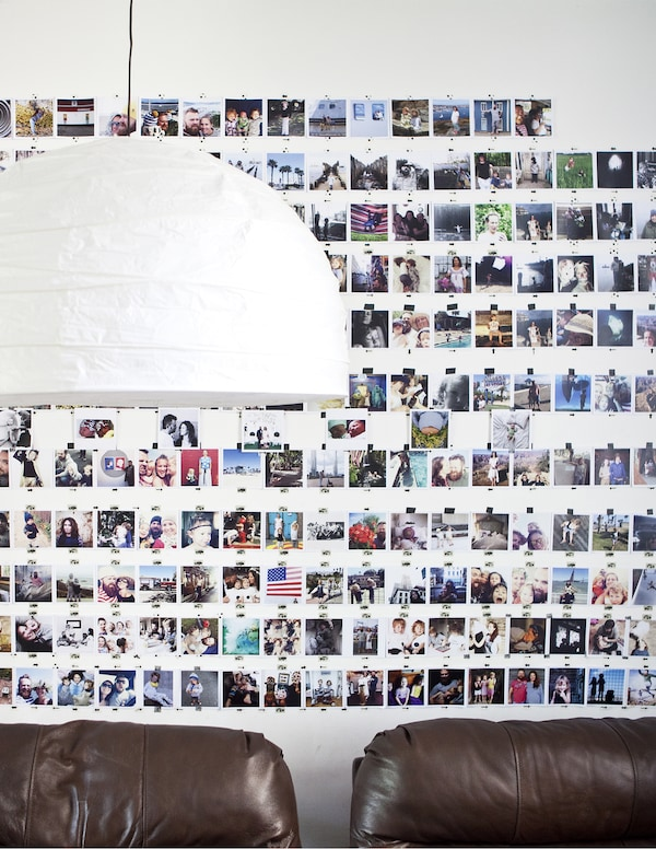 Bring back memories with a photo-gallery wall