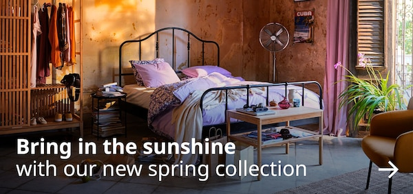 bring in the sunshine with our new spring collection