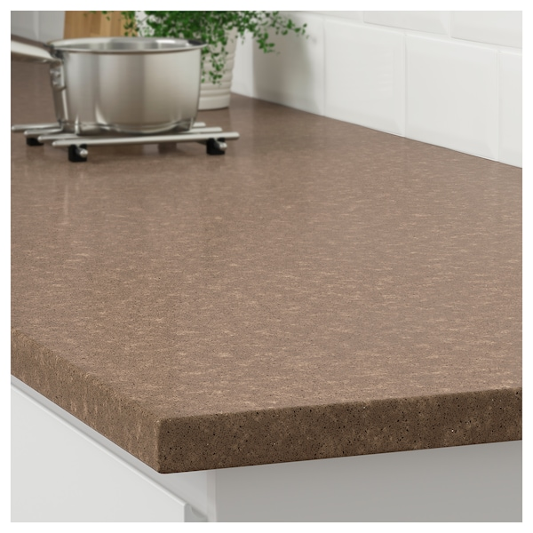 Brown stone marble effect