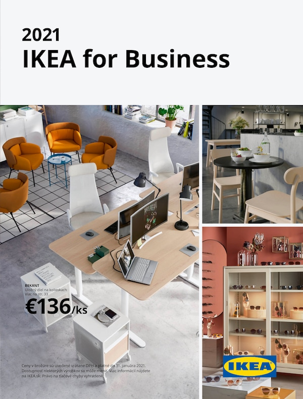 Brožúra IKEA for Business.