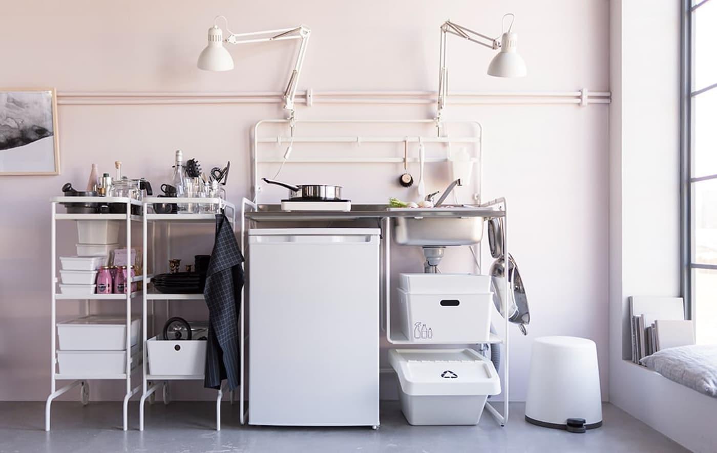 Budget wonen - SUNNERSTA kitchenette - IKEA wooninspiratie