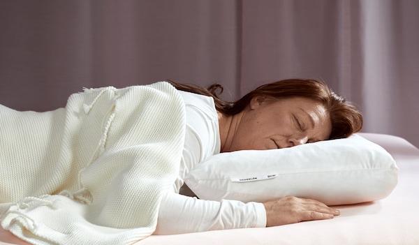 buikslaper IKEA ergonomische kussens