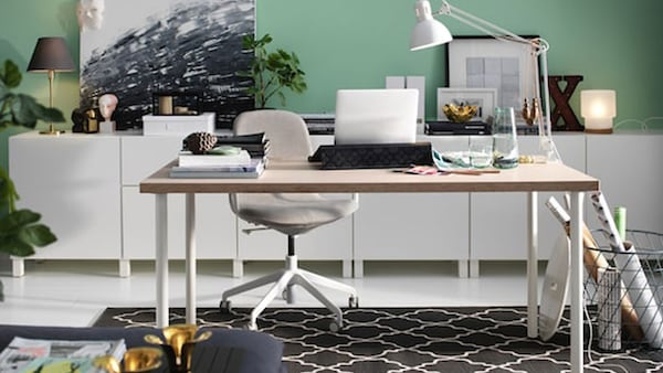 build your own desk ikea