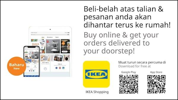 Buy online using our IKEA app
