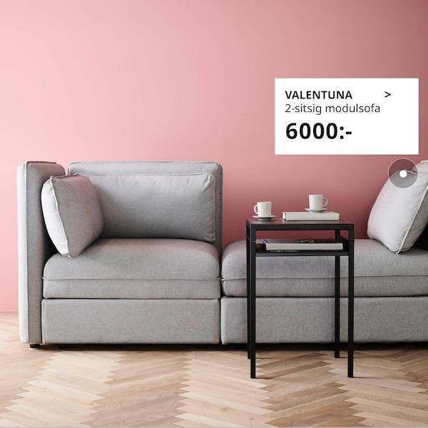 Bygg din egen VALLENTUNA soffa.