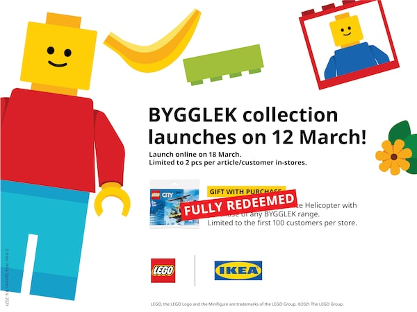 BYGGLEK collection launches on 12 March