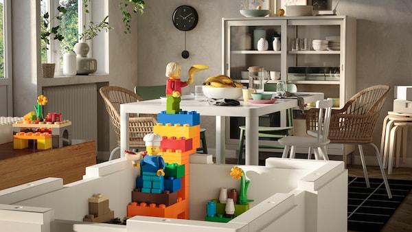 BYGGLEK-erikoismallisto, joka on tehty yhteistyössä Lego:n kanssa