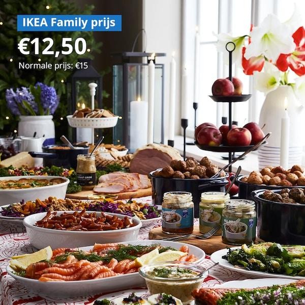 Proef ons Zweedse buffet