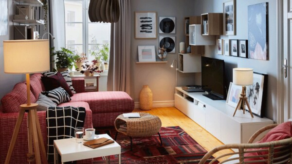 A living room for sleep-ins