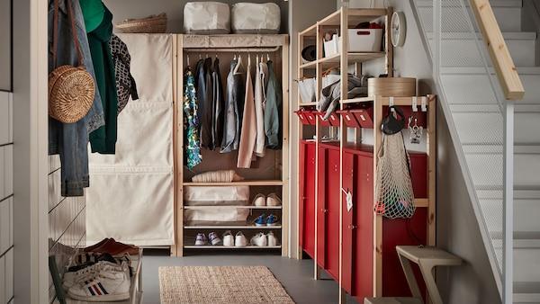 IVAR Étagère av rangement IKEA