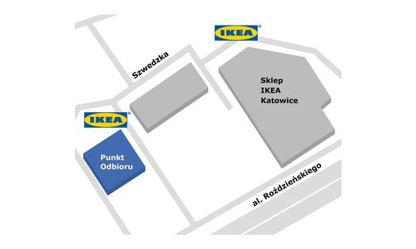 Punkt odbioru w sklepie IKEA Katowice