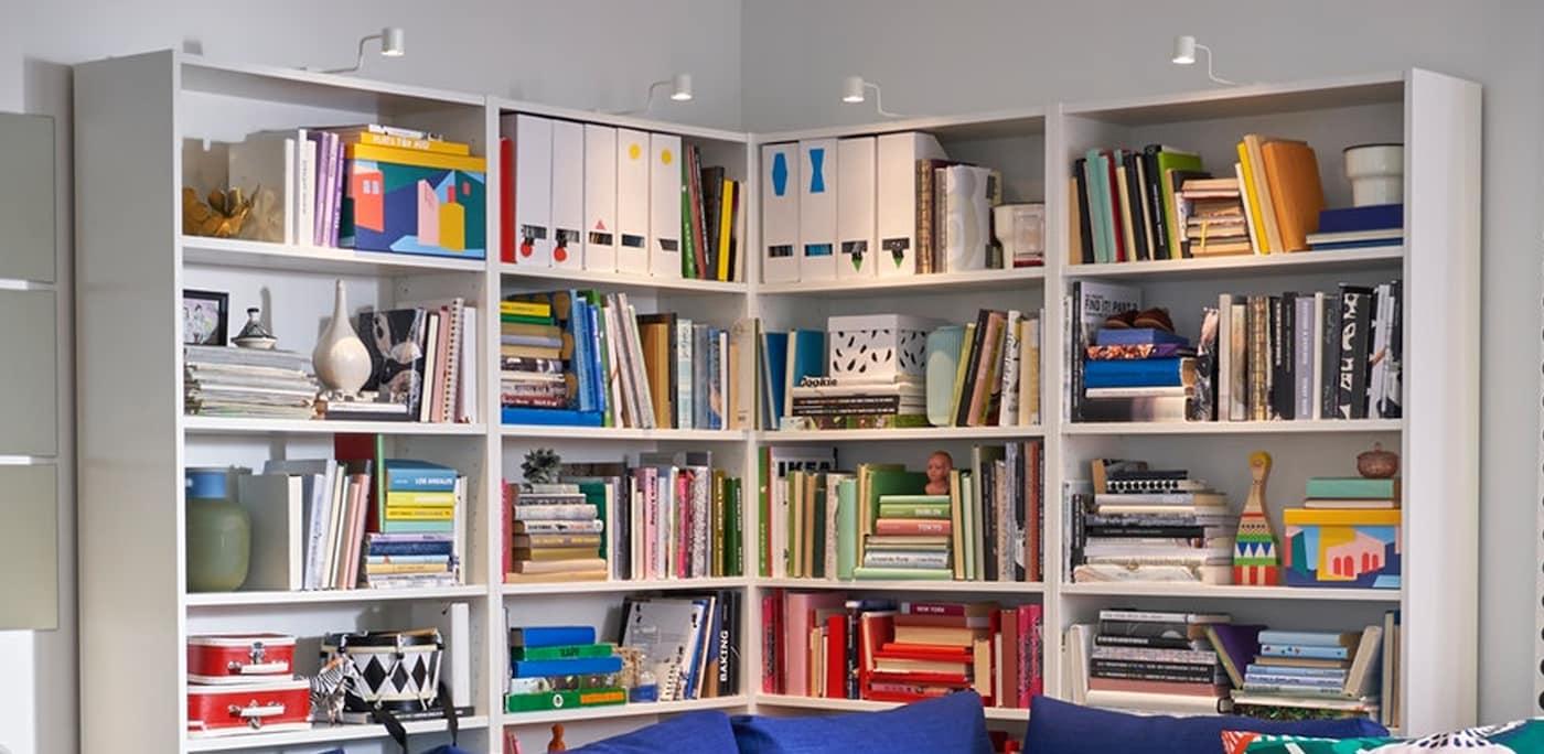 Floor Bookcase Living Room Organizer Book Media Shelves Wood Modern Furniture