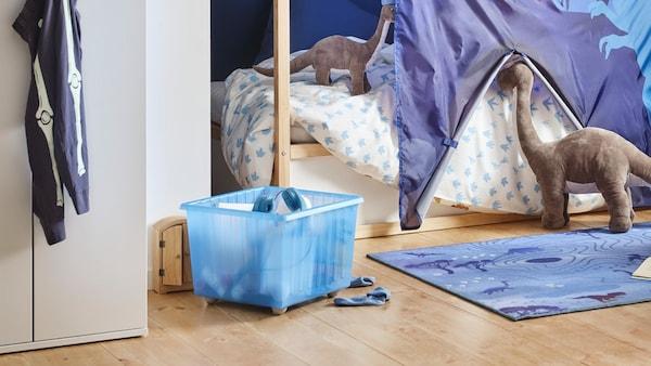 Ranger les jouets pour mieux les retrouver