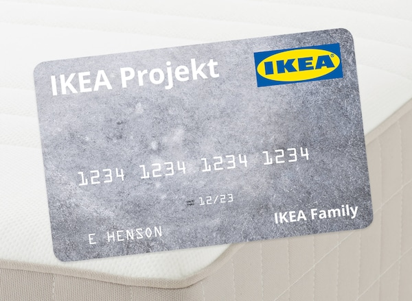 IKEA projekt credit card