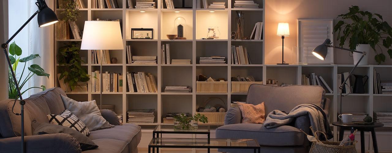 Living with light IKEA