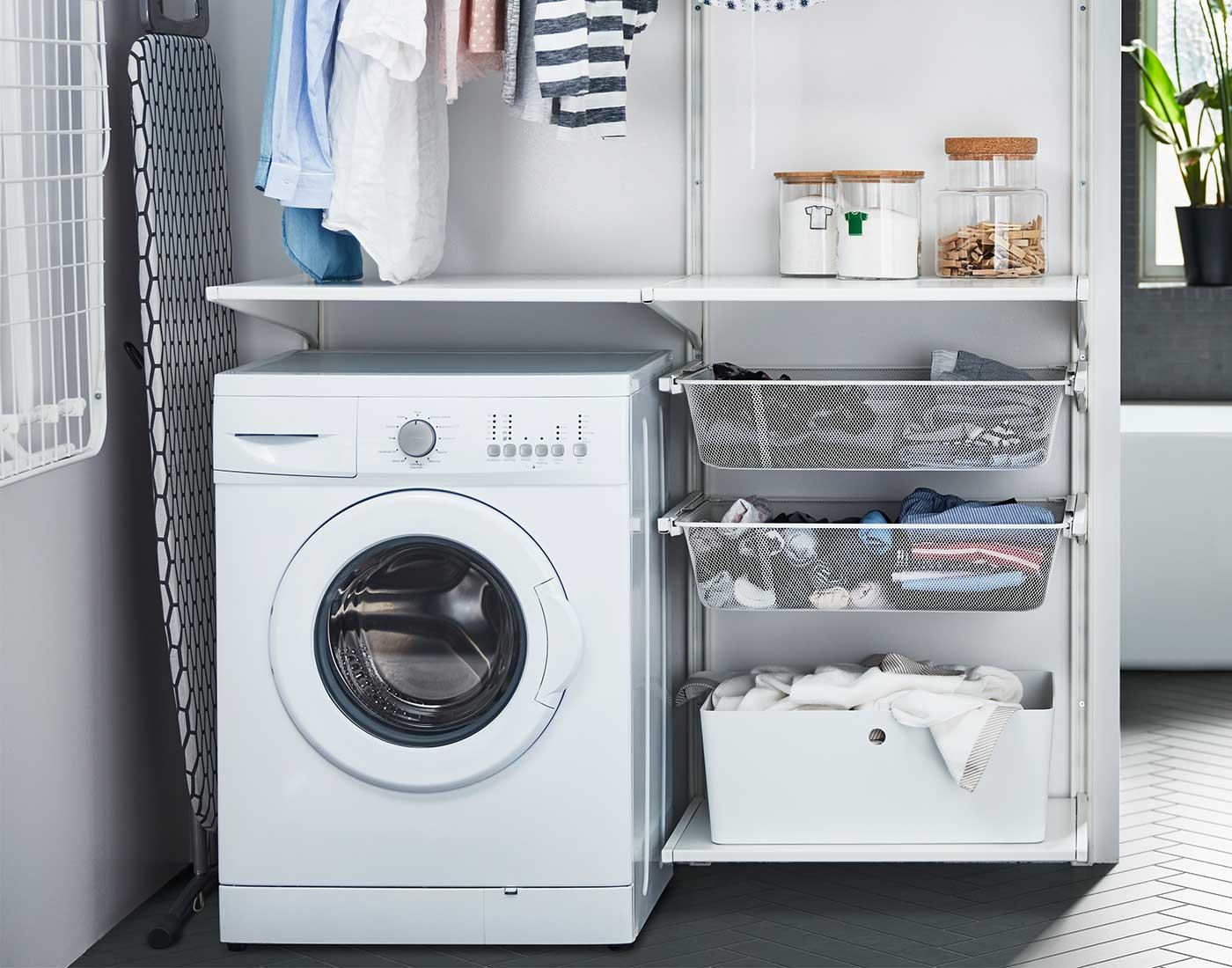 Picture of: Praktiske Serier Til Dit Bryggers Se Mulighederne Ikea