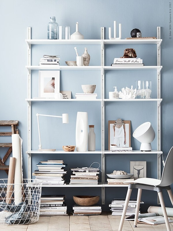 cabinet-styling-easy-tips-ALGOT-IKEA living inspiration